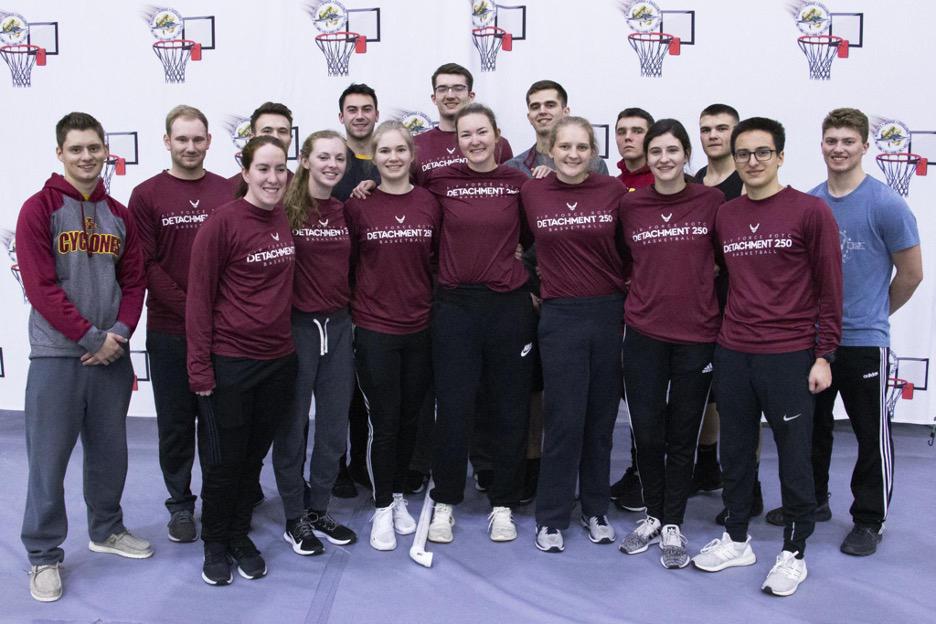 Detachment 250 Basketball Squad