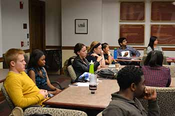 Students in the fall 2012 session of LAS 151: Dean
