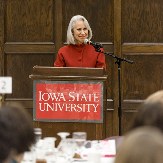 Lynn Povich visited Iowa State as the 2016 Mary Louise Smith Chair in Women and Politics.