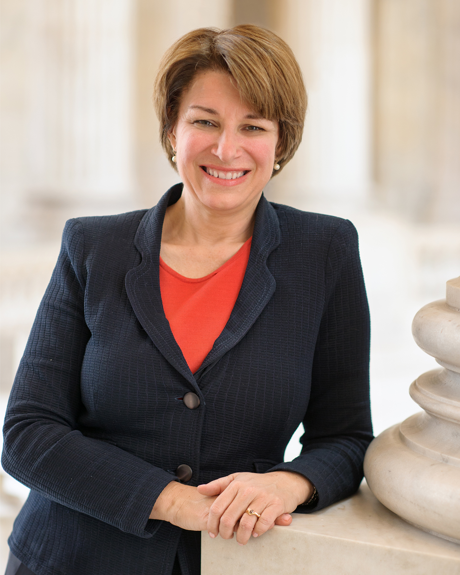 U.S. Sen. Amy Klobuchar of Minnesota is the fall 2017 Mary Louise Smith Chair in Women and Politics.