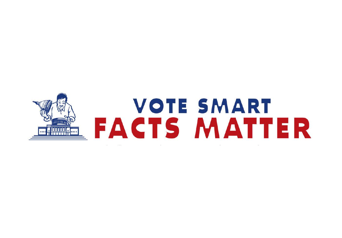 Vote Smart Facts Matter logo