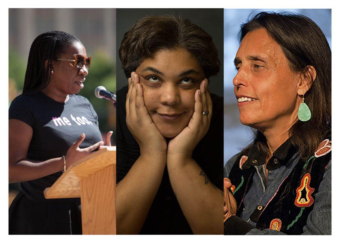 Tarana Burke, Roxane Gay and Winona LaDuke