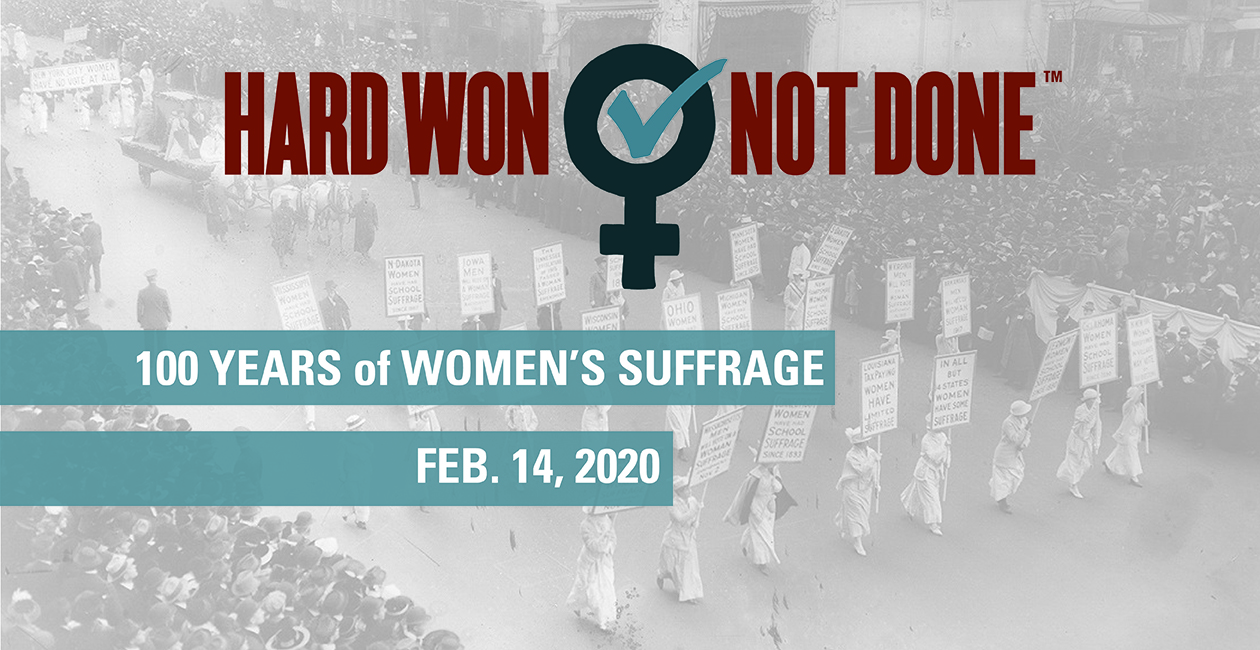 Center to host statewide centennial commemoration of 19th Amendment