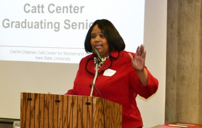 Dean of students, Pamela Anthony