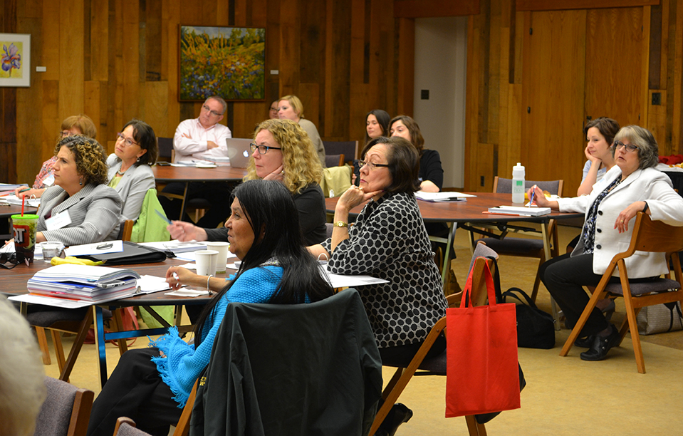 Participants learn about effective strategies to develop and deliver their campaign messages.
