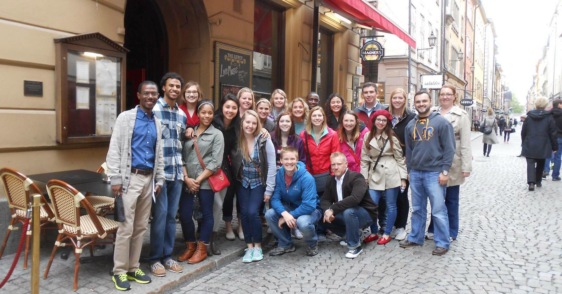 Students, Beatty and Winfrey gather in Stockholm