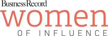 Business Record Women of Influence logo
