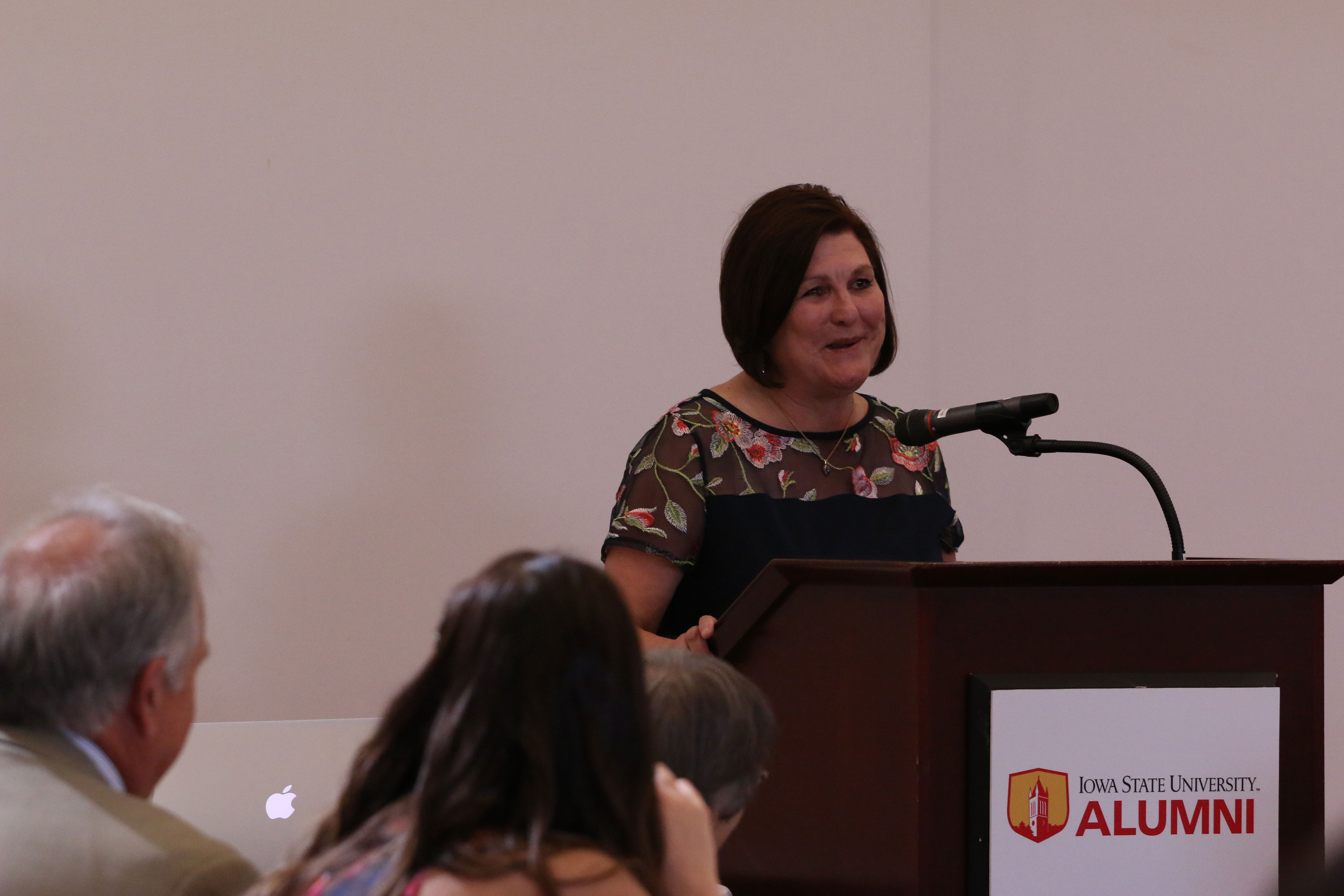 In her farewell speech, Bystrom thanked her friends, colleagues, Catt Center donors and family for their support during her 22 years as director.