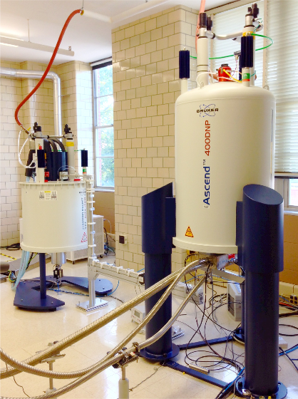 263 GHz/400 MHz DNP NMR Spectrometer in the DOE Ames Lab