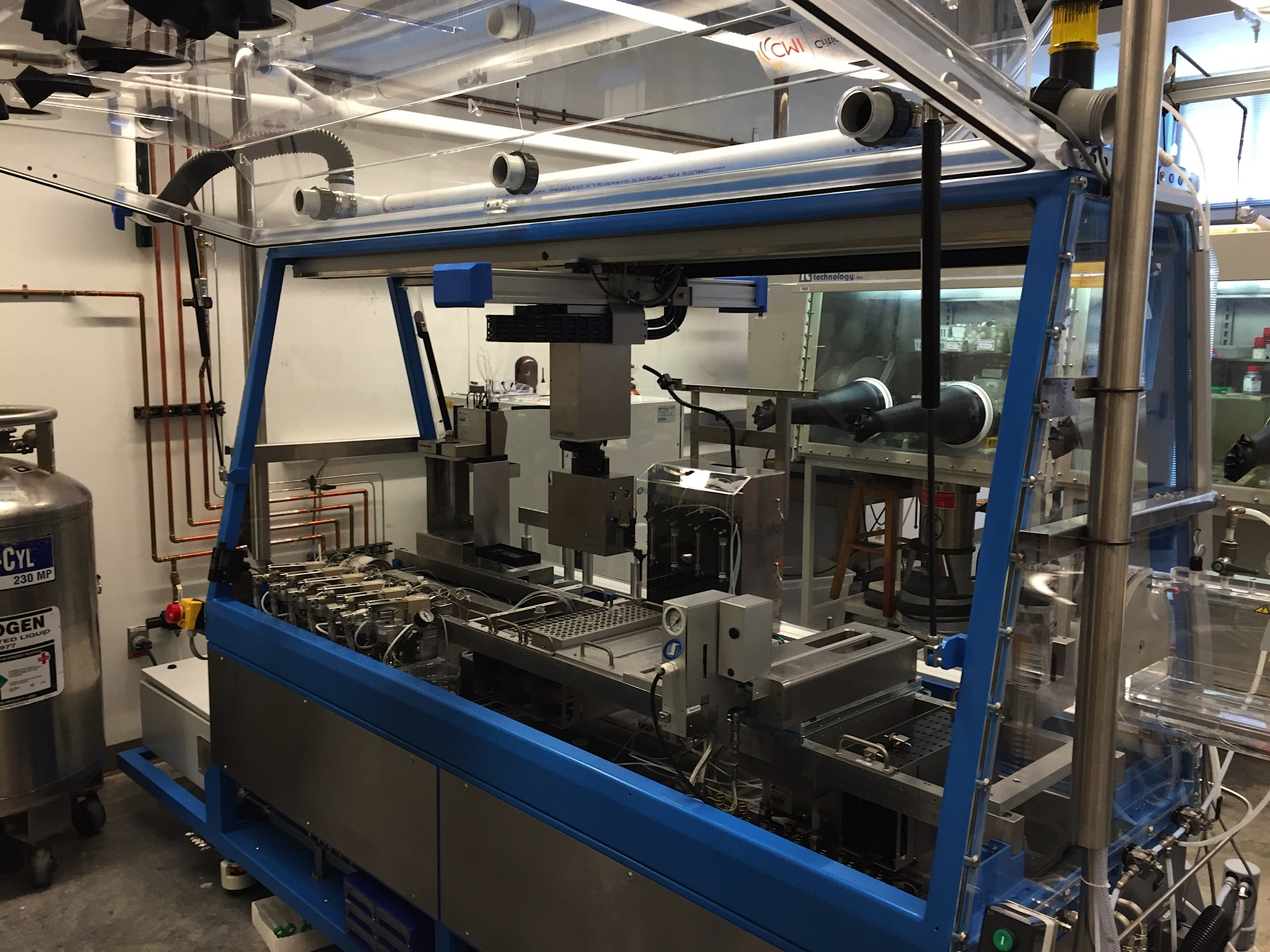 Robotic platform for automated catalysis studies.
