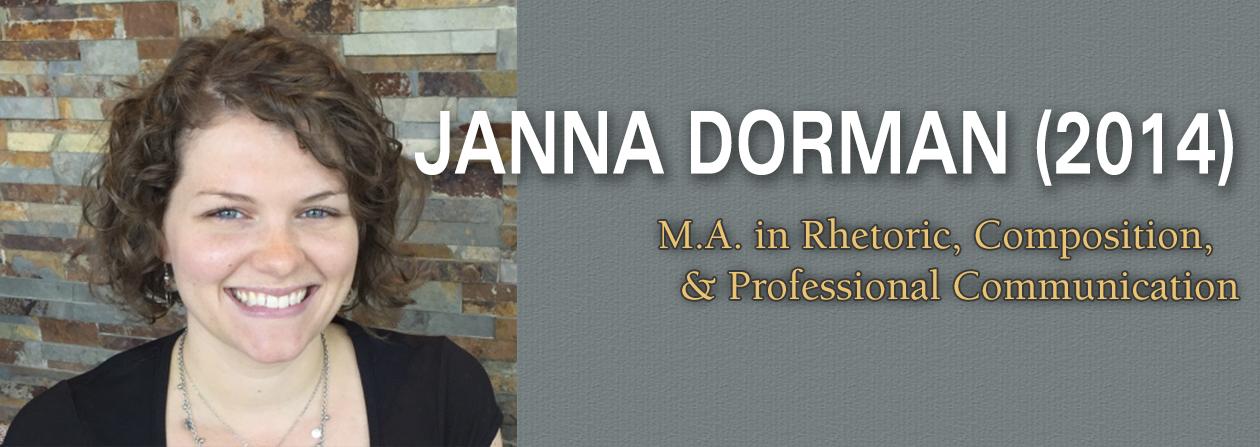 Janna Dorman 2014