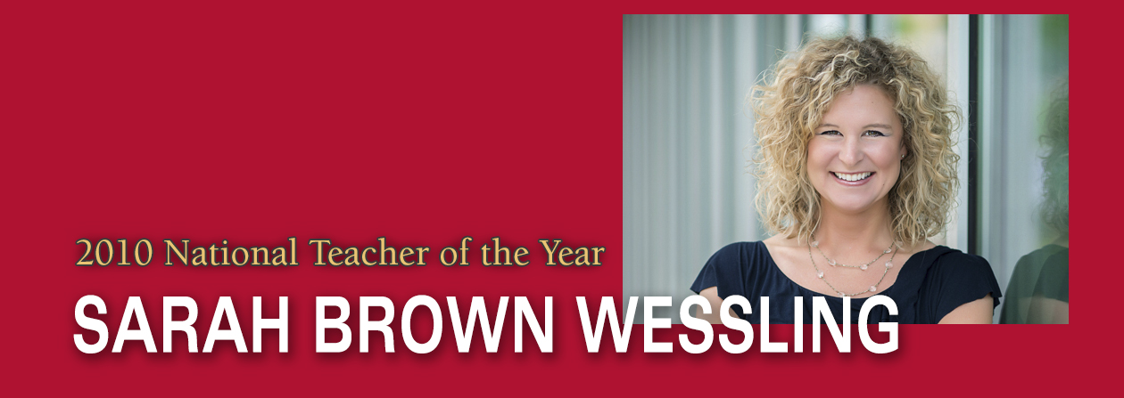 Wessling Teacher of the Year