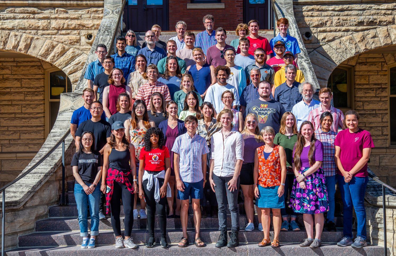 Geology Department 2019 (Christopher Gannon/Iowa State University)