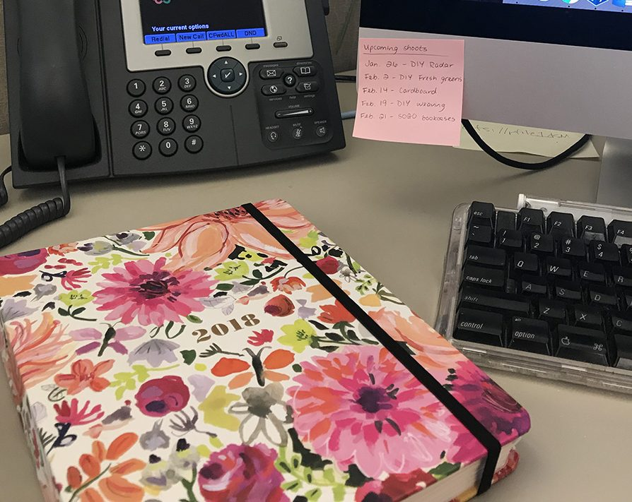 A good planner – or some other way to keep your tasks, deadlines and meetings organized – is a must! Photo by Jessica Bennett