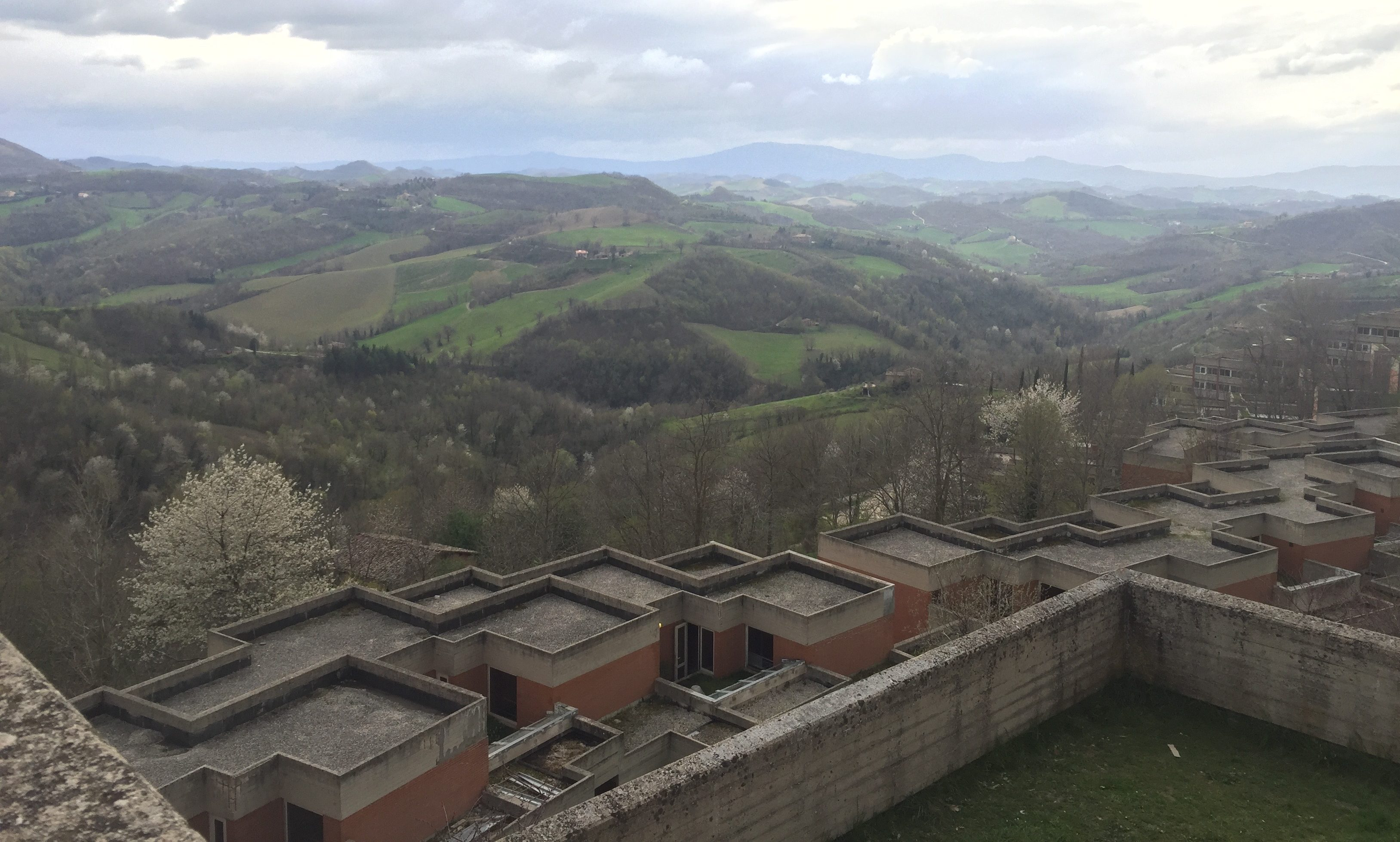 View from the roof of Aquilone