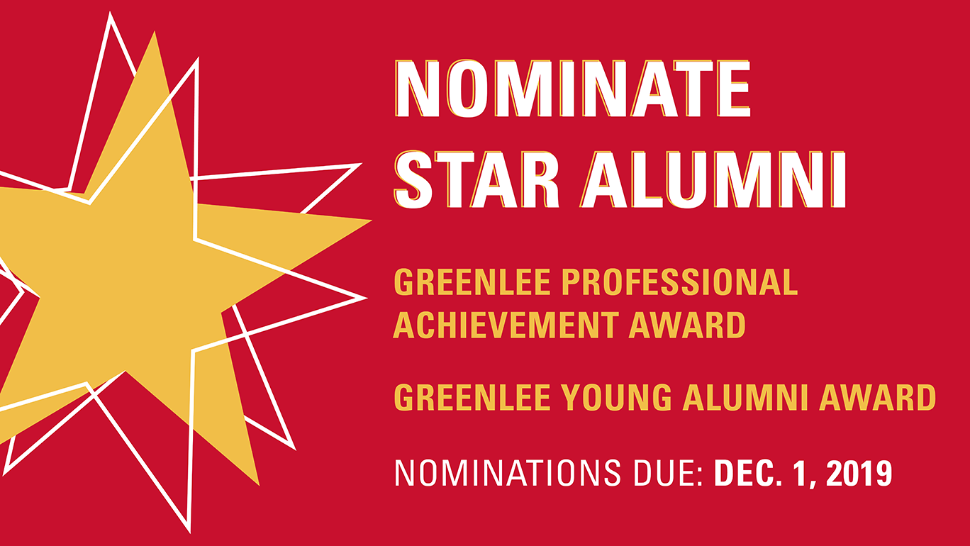 Nominate Star Alumni Graphic