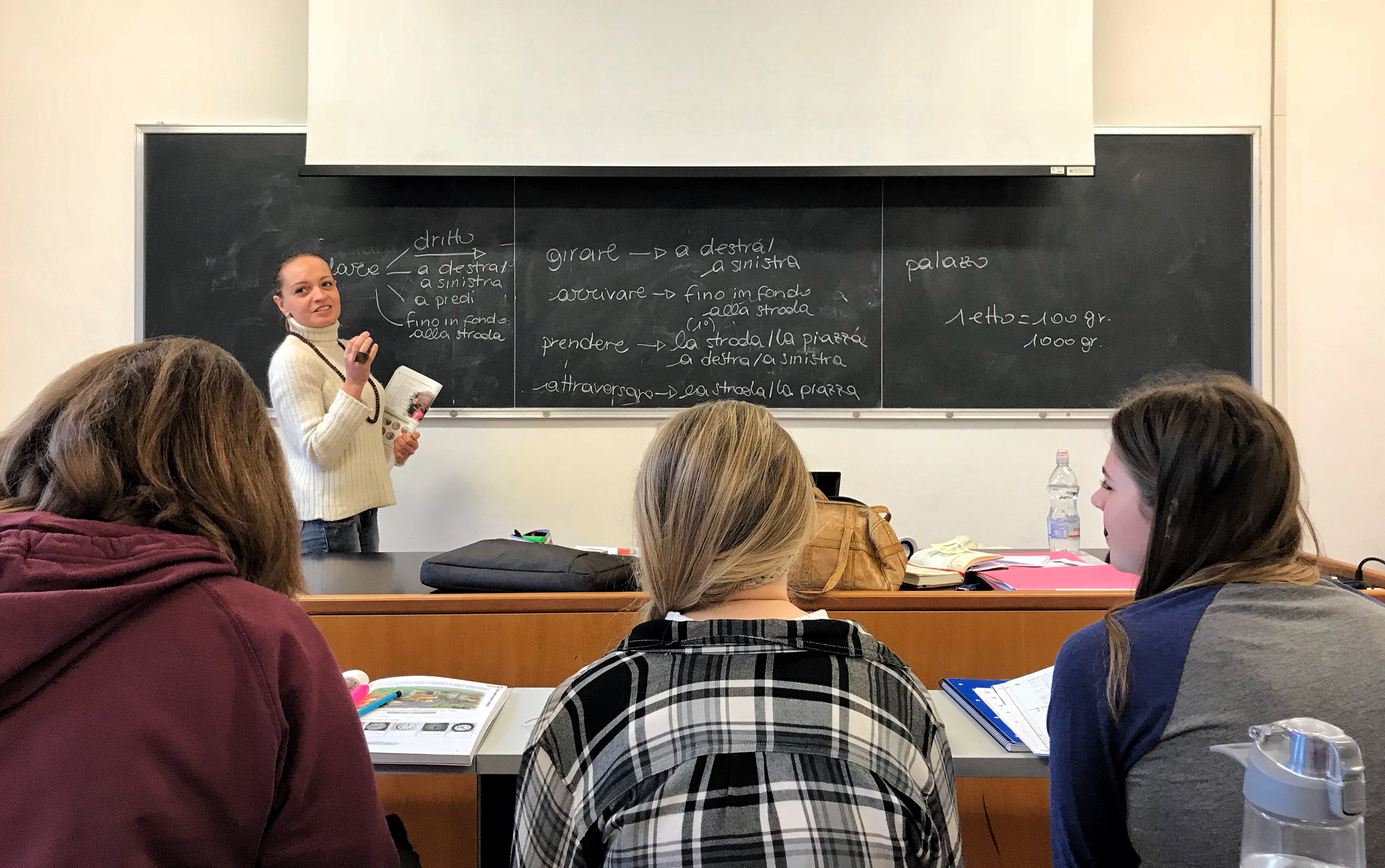 Greenlee students studied in Urbino, Italy during the spring of 2018. Photo by Audrey Comer