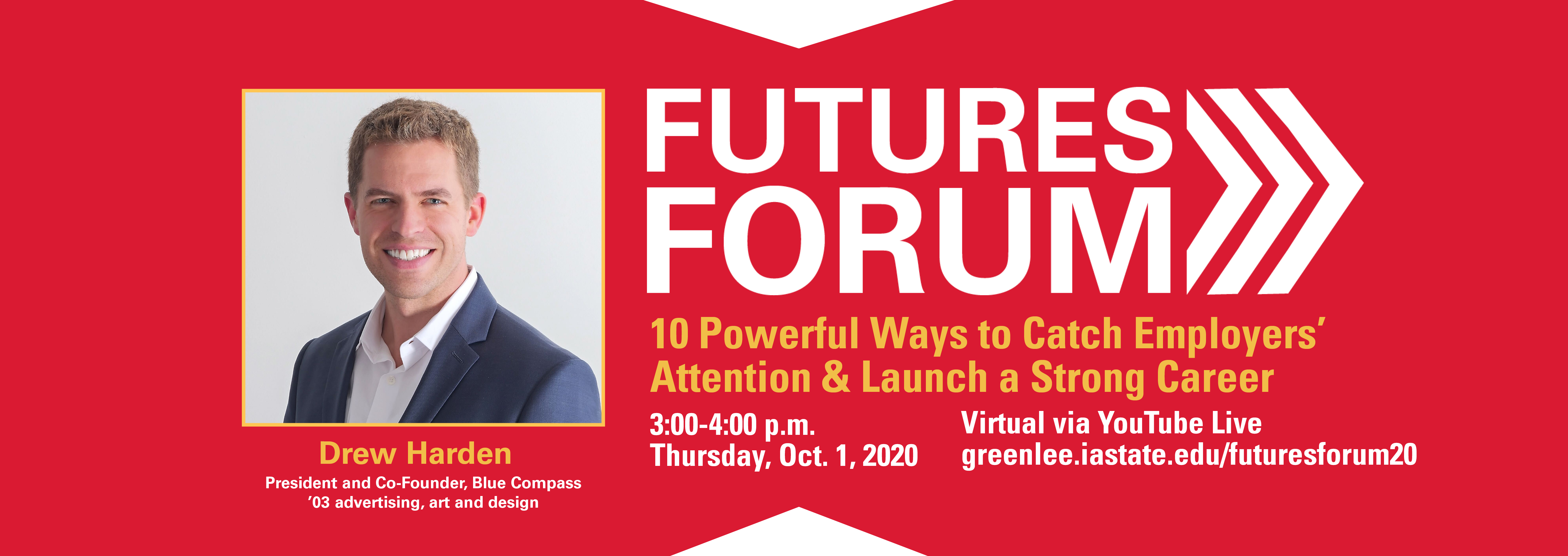 Launch your career at the 2020 virtual Futures Forum