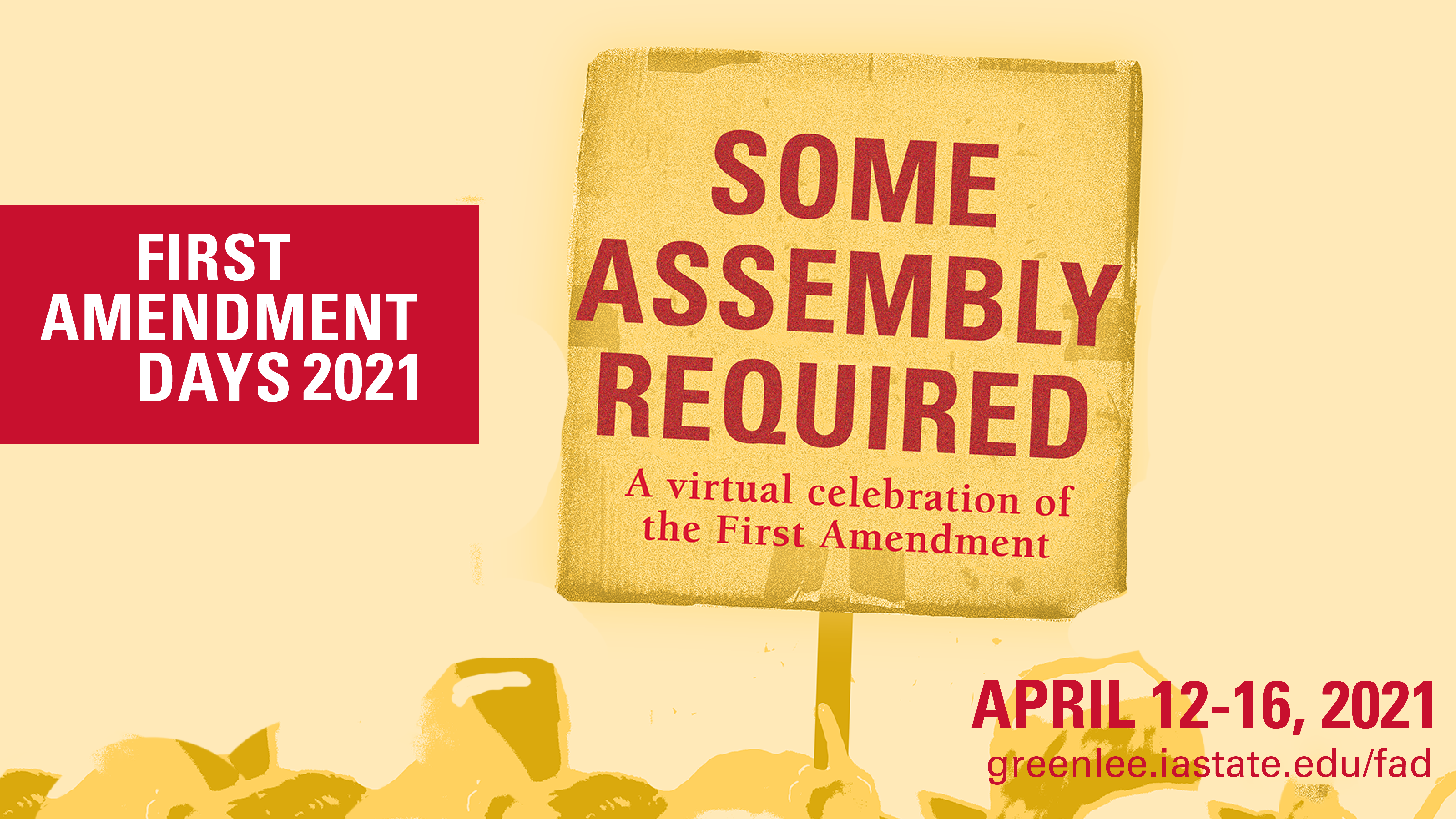 First Amendment Days Some Assembly Required graphic