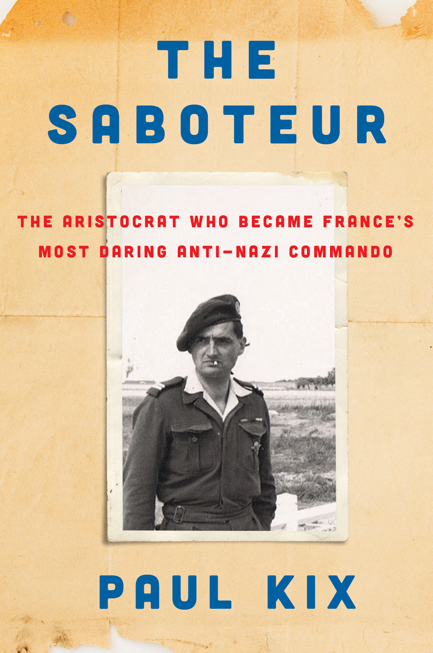 The Saboteur: The Aristocrat Who Became France's Most Daring Anti-Nazi Commando is published by HarperCollins.  Learn more about the book and get updates from the author  at paulkix.com.
