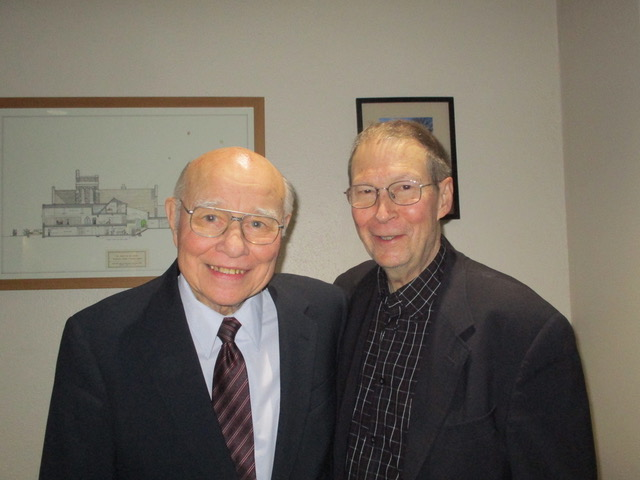 Veryl Fritz and Tom Emmerson