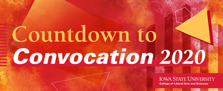 Countdown to Convocation 2020 banner
