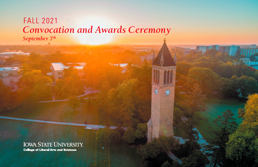 convocation and awards program cover