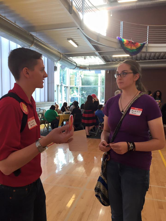 Members of Student Government frequently attend welcome events of Student Organizations across campus