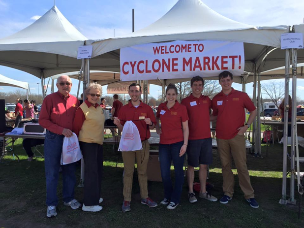 Cyclone Market was created in 2015 as a way for Student Organizations to increase awareness and sell their products