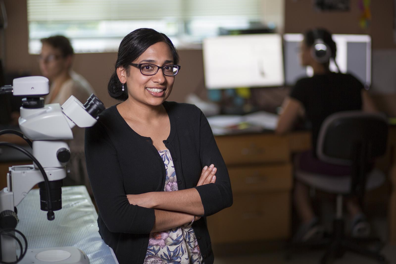 Geetu Tuteja, assistant professor, GDCB.  (Christopher Gannon/Iowa State University)