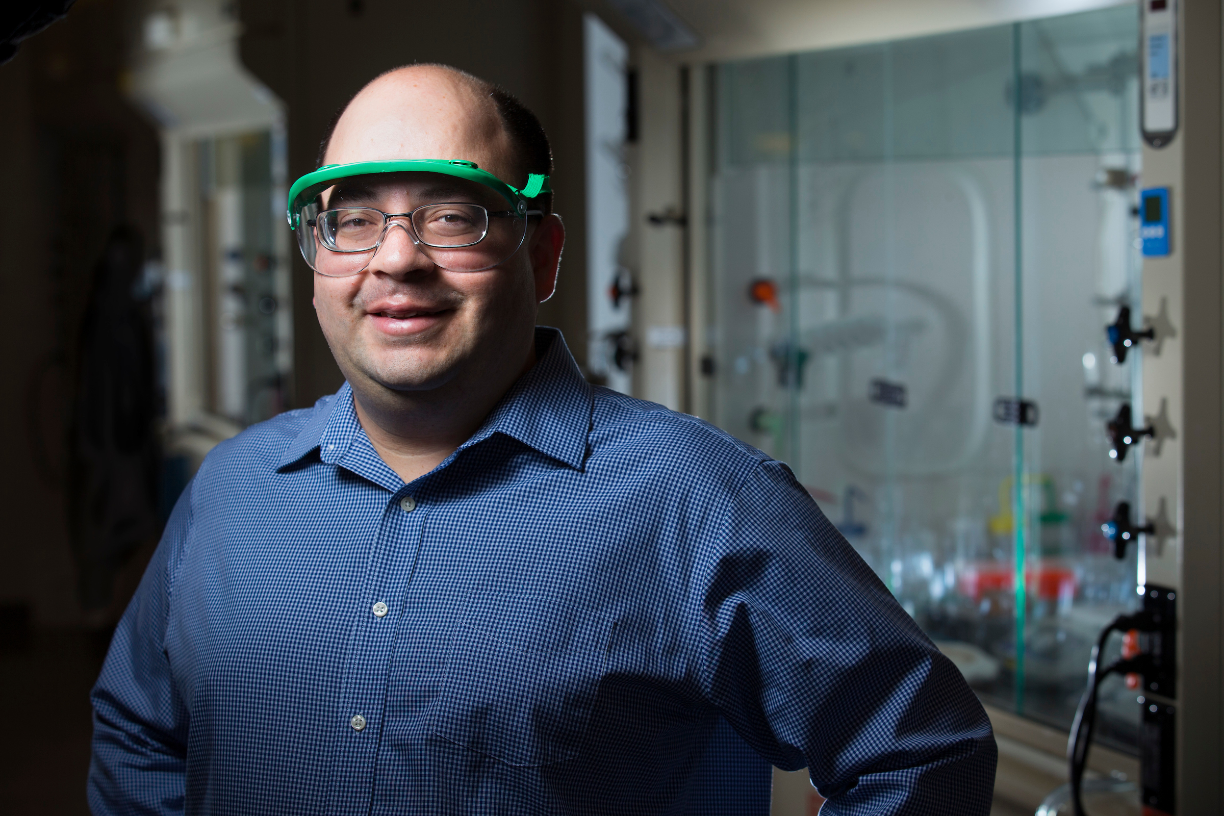 Javier Vela, associate professor of chemistry at Iowa State University.