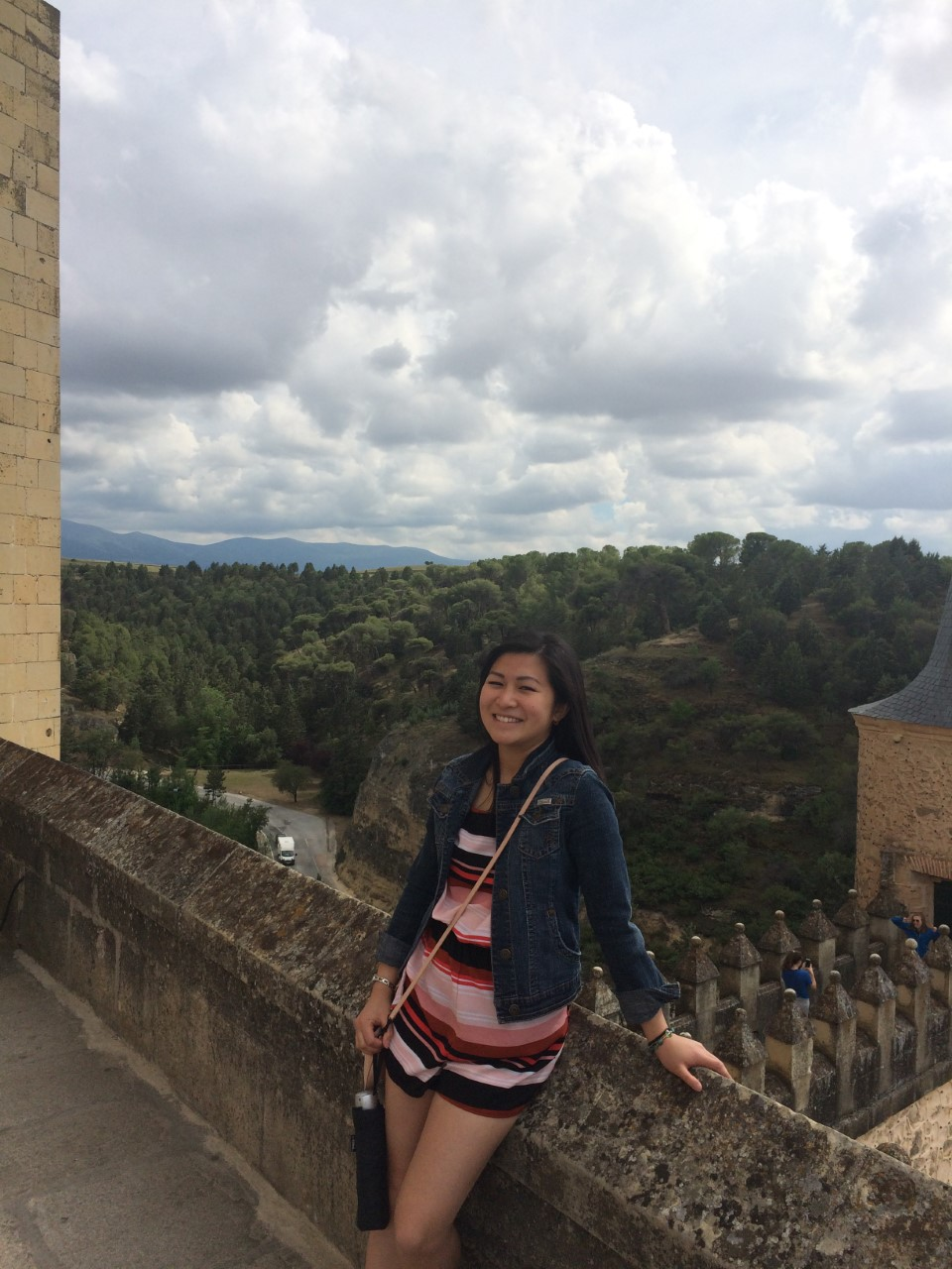 Julia Nguyen ('18 biochemistry) studied abroad in Valencia, Spain. This photo was taken in Segovia, Spain.