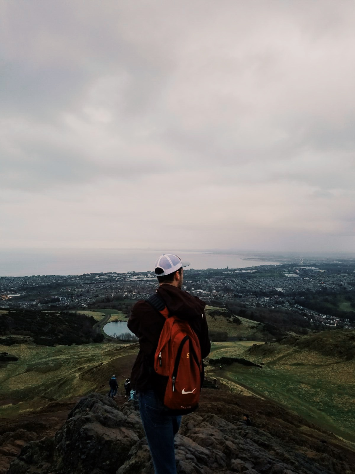 This photo was taken at Arthur's Seat in Edinburgh, Scotland. Kevin Horner ('17 journalism and mass communication) studied at the University of Manchester in England.