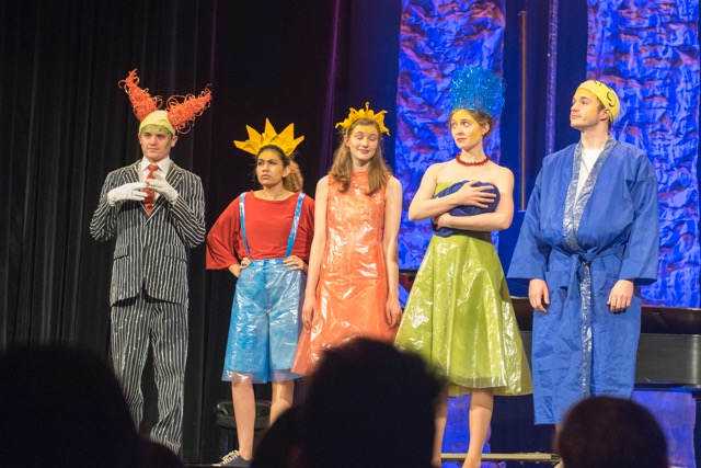 The ISU Theatre production of Mr. Burns: A Post-Electric Play was featured in the KCACTF Festival 49 Costume Parade.