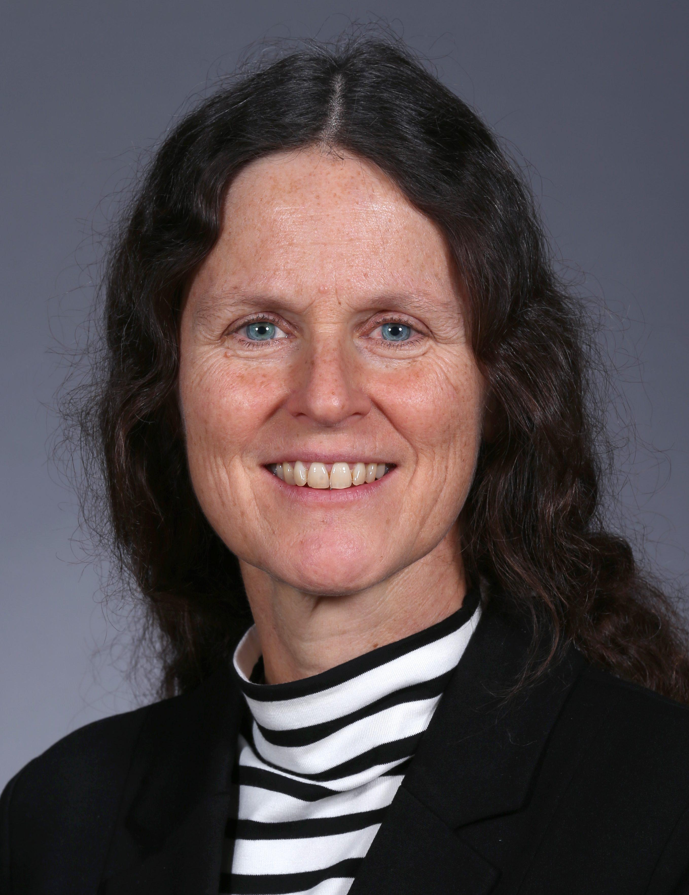 Kristen Johansen, chair of the Roy J. Carver Department of Biochemistry, Biophysics and Molecular Biology.  (Christopher Gannon/Iowa State University)