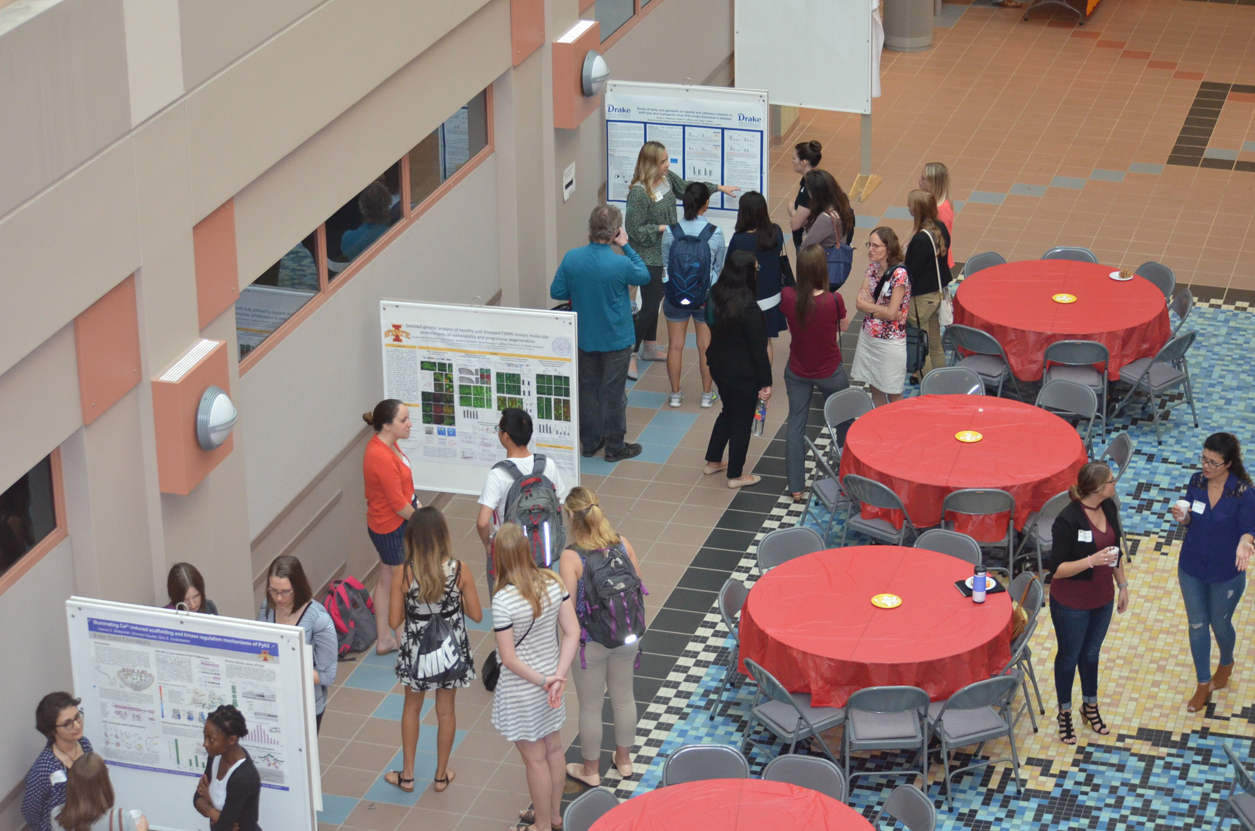 Neuroscience Research Day brought together students across Iowa State and from surrounding colleges with an interest in neuroscience research.