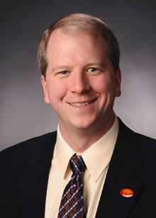A portrait style photo of David Peterson.