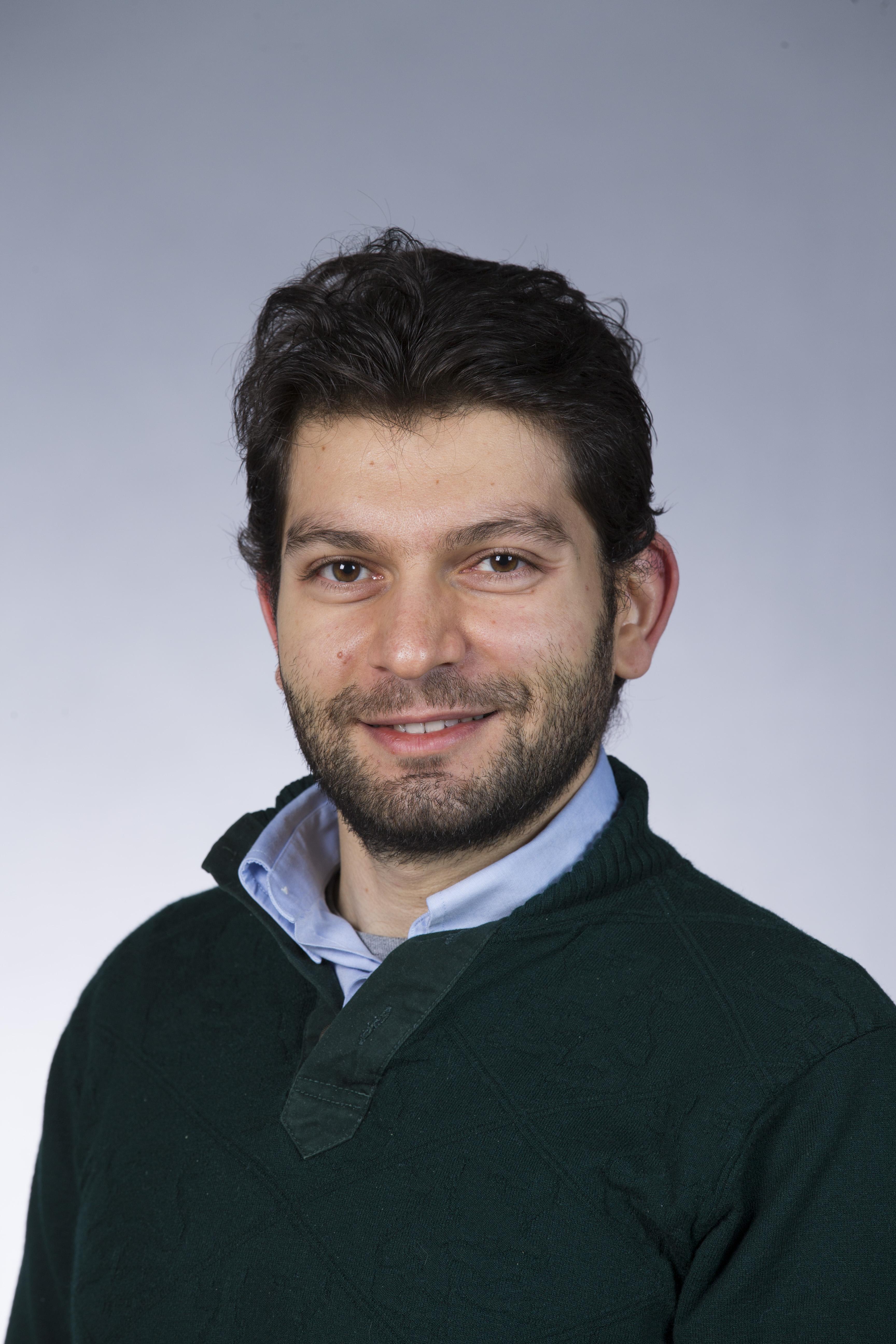 A headshot of Davit Potoyan