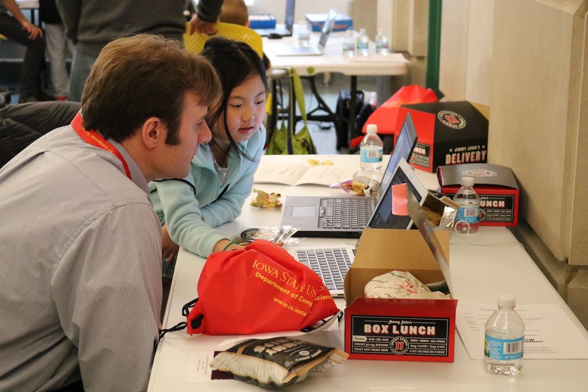 Students' projects are judged by alumni in industry, K-12 teachers and computer science graduate students.