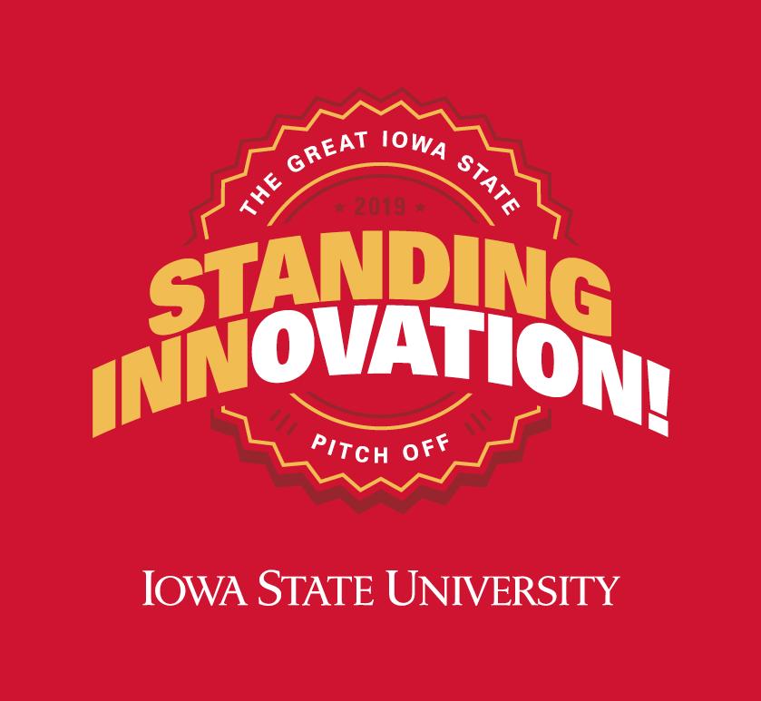 Logo for ISU State Fair event - Standing Innovation!