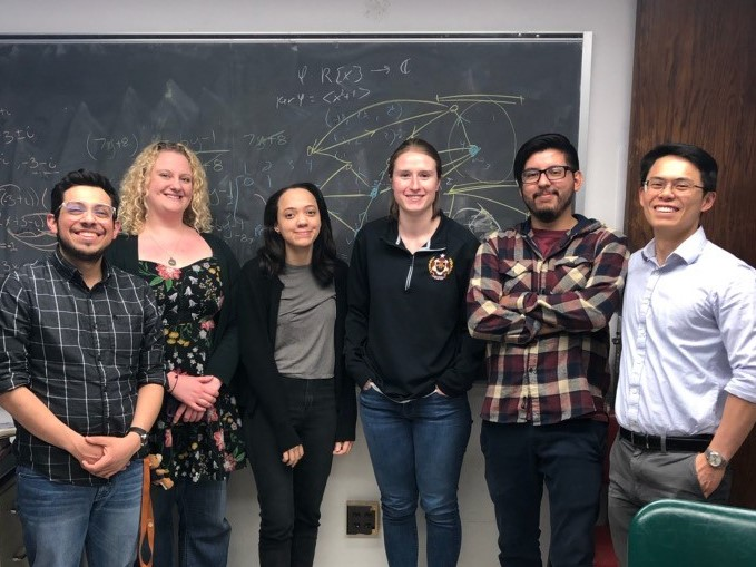 Group of students from the 2018 postbac cohort