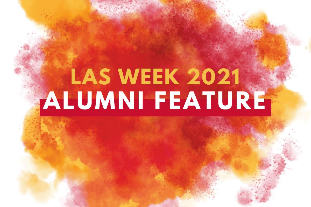Decorative image, LAS Week 2021 Alumni Feature