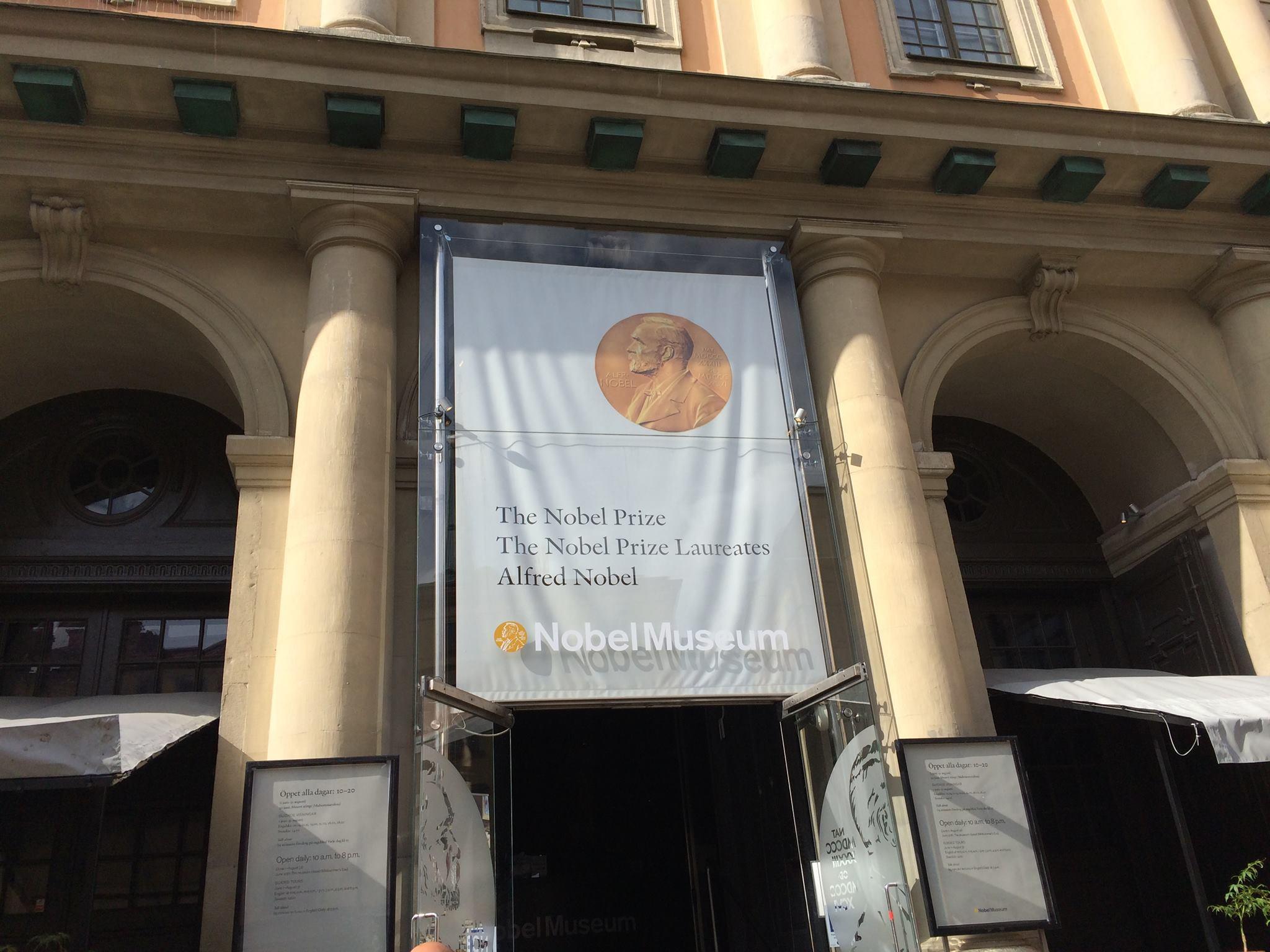 Nobel Museum in Stockholm, Sweden