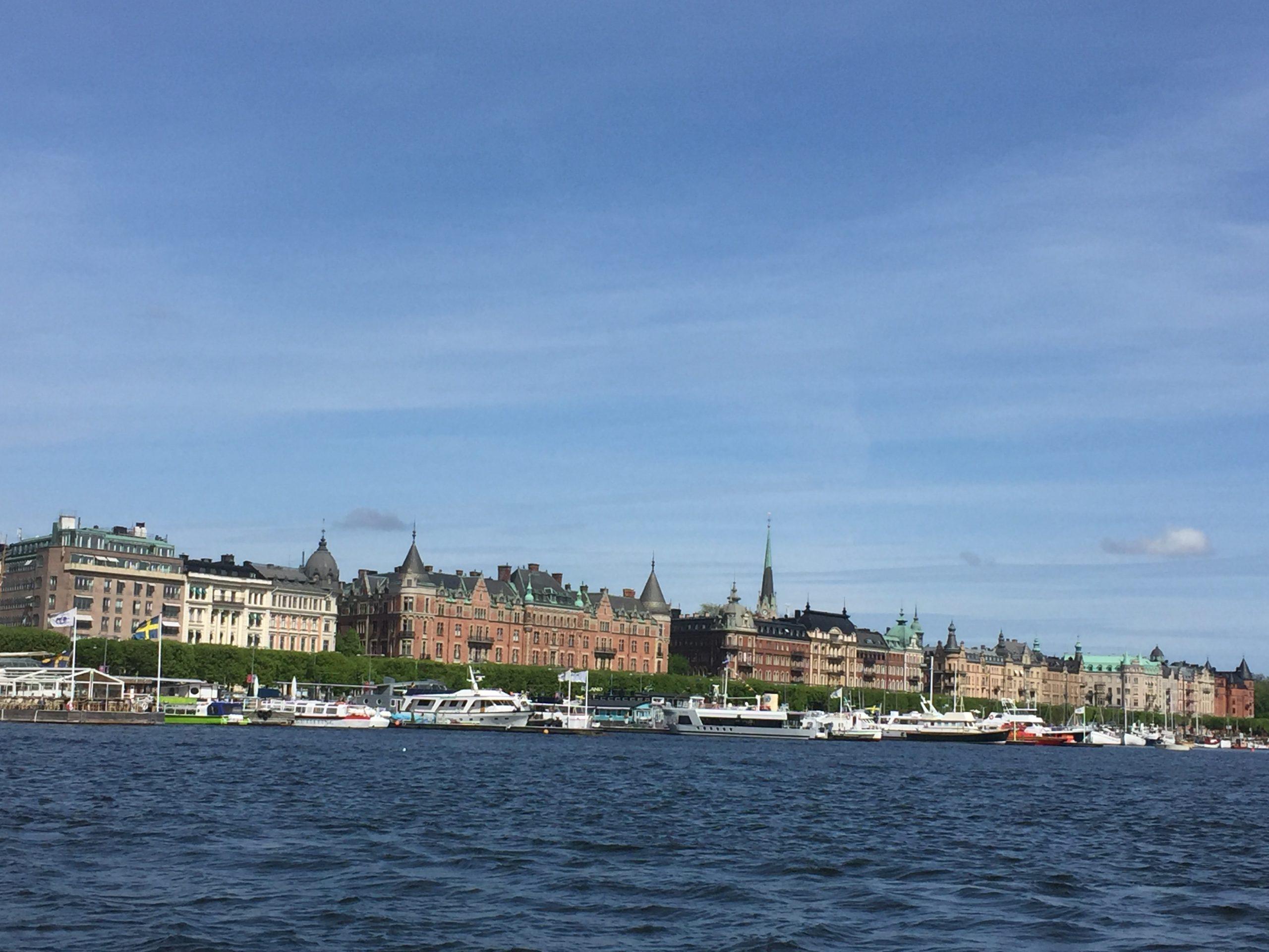 Marina in Stockholm