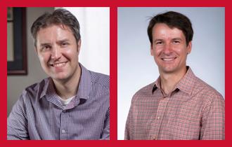 professional photos of Jason McCullough and Bernard Lidicky