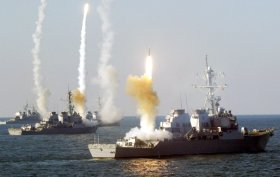 Surface-Ships-firing-missiles