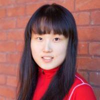 Photo of Alina Lu, '19 biology