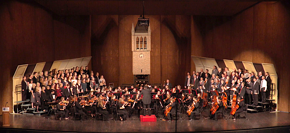 The Gala Anniversary Concert in Stephens Auditorium.