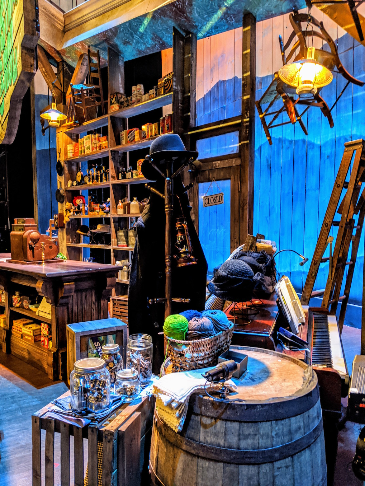 Theatre general store set