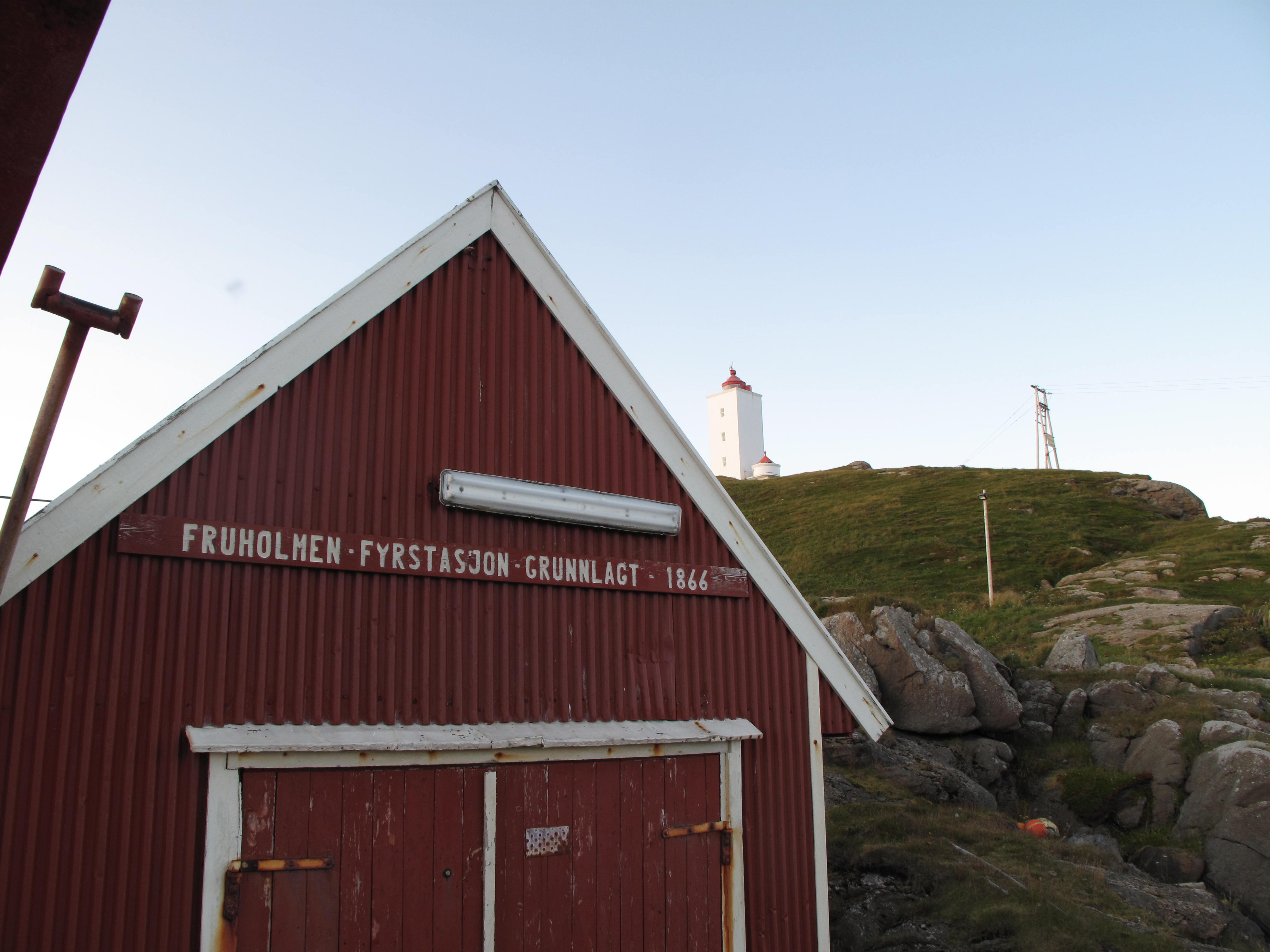 Lighthouse at Ingøya.